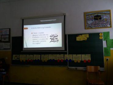 Ogledni čas Islamske vjeronauke