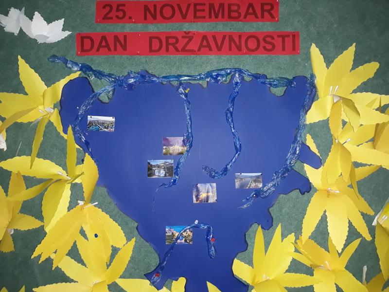 Školska priredba -Dan državnosti 25. novembar